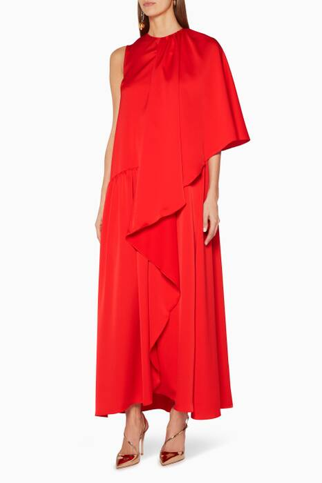 Red Dusk Maxi Dress