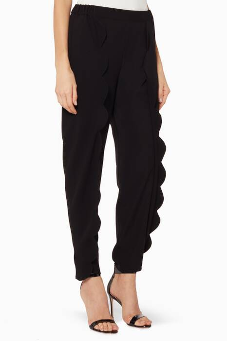 Black Tulip Pants