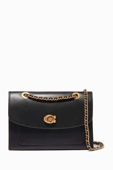 Black Parker Shoulder Bag