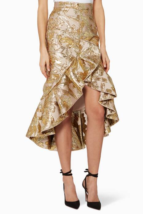 Otro-Gold Suculenta Indian Tobacco Skirt