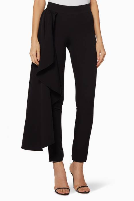 Black Butterfly Pants