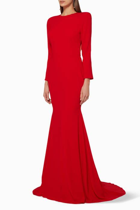Red Lace Alex Gown