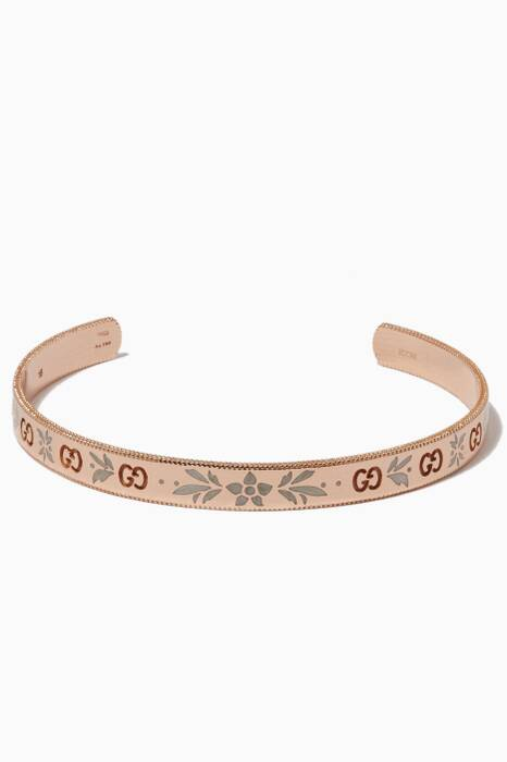 Rose-Gold Icon Blossom Bracelet