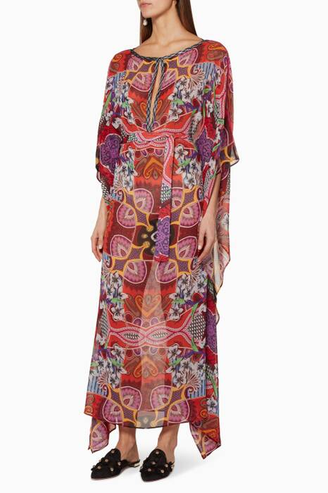 Multi-Coloured Boavista Kaftan