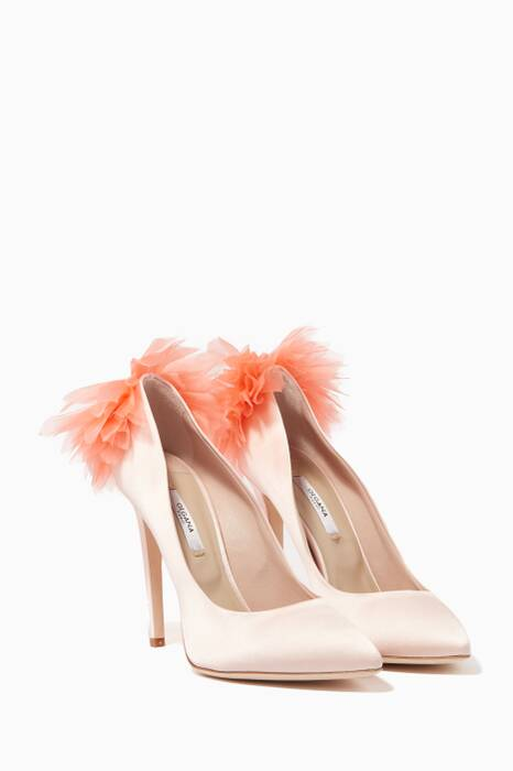 Light-Pink Chrysanthème Pumps