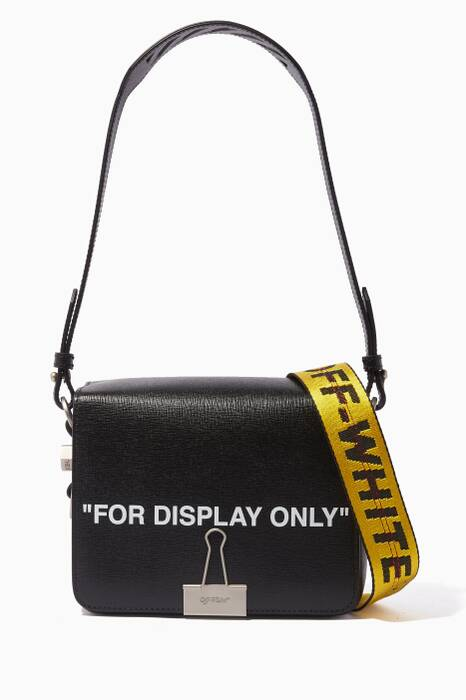 Black For Display Only Flap Shoulder Bag