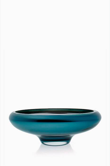 Teal Large Deco Bowl