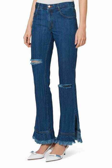 Indigo-Blue The Bob Jeans