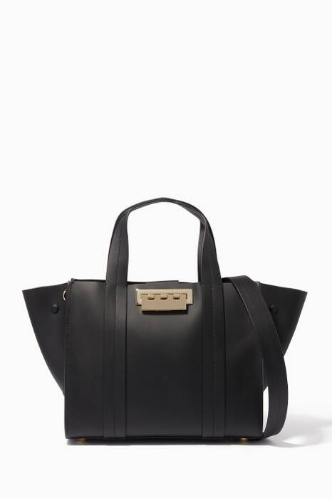Black Eartha Iconic Small Shopper Bag