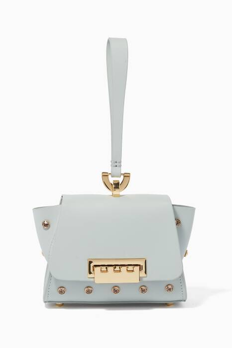 Light-Green Eartha Iconic Wristlet Bag