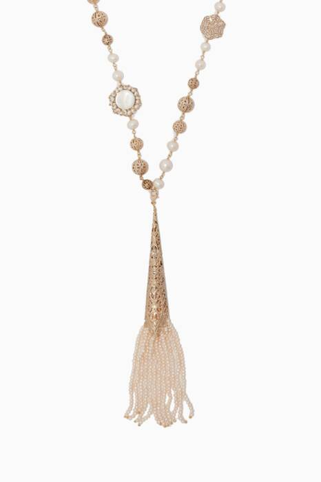 Pearl & Gold-Tone Brass Mistico Necklace