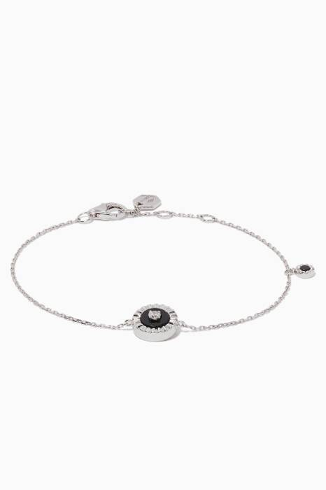 White-Gold & Diamond Coco Bracelet