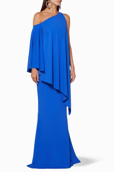 Blue Kita Long Dress