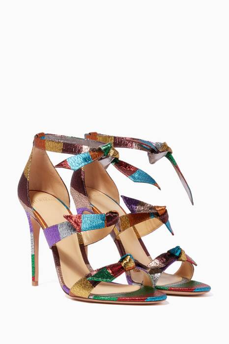 Multi-Coloured Lolita Lamé Sandals