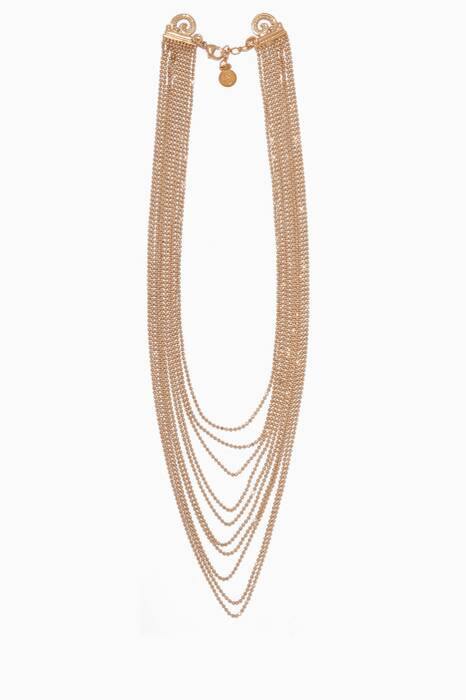 Gold Romeo Strand Necklace
