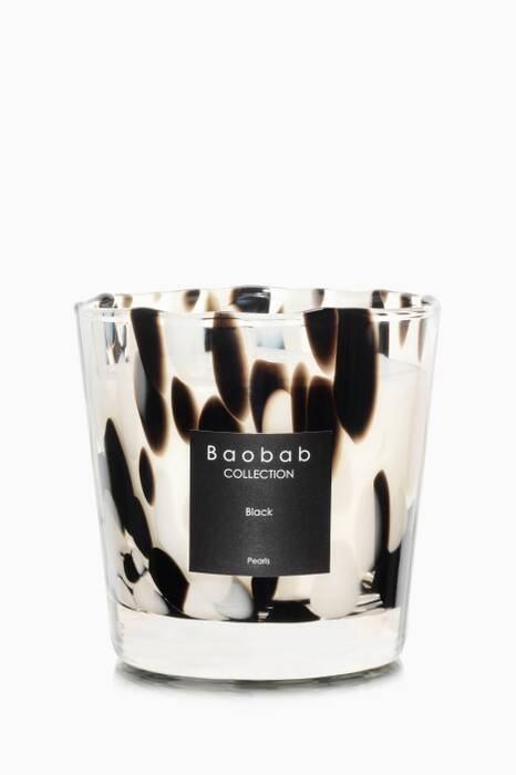 Max One Black Pearls Candle