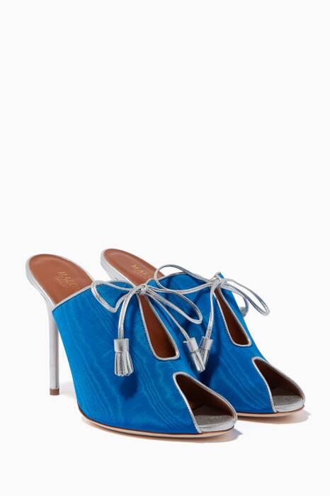 Blue Dawn Tassel Mules