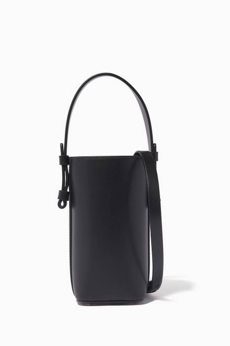Black Adenia Vertical Bucket Bag
