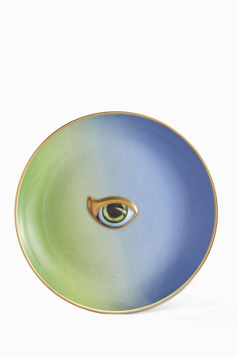 Green & Blue Lito Plate
