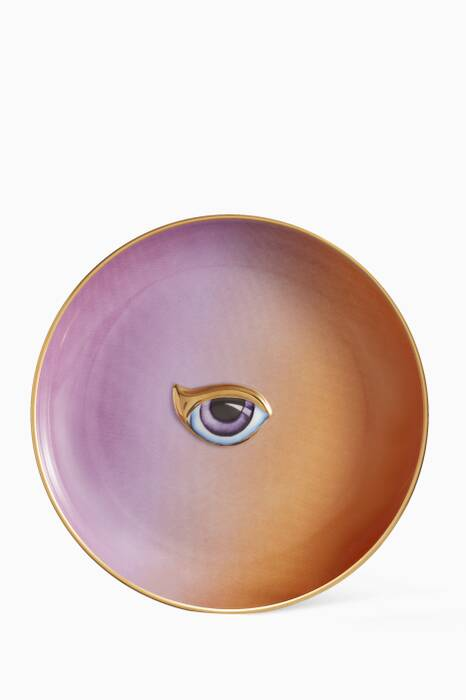 Purple & Orange Lito Plate