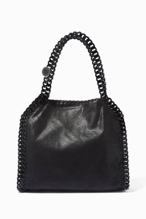 Black Small Falabella Shaggy Deer Tote Bag