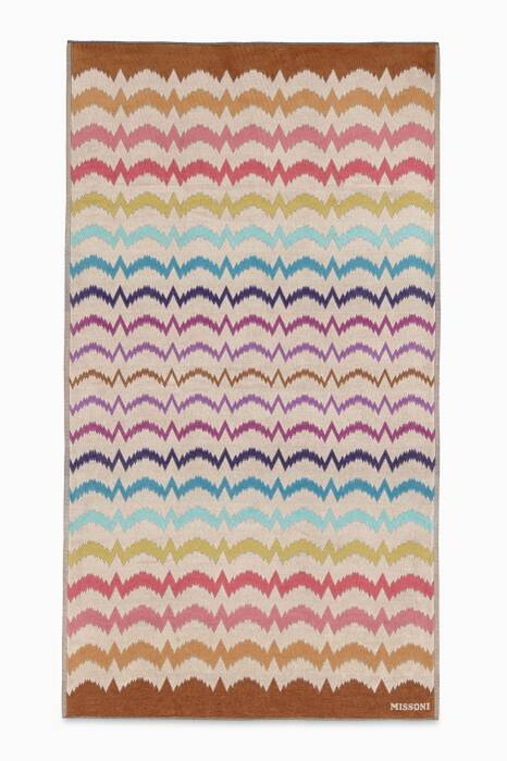 Multi-Coloured Vera Beach Towel