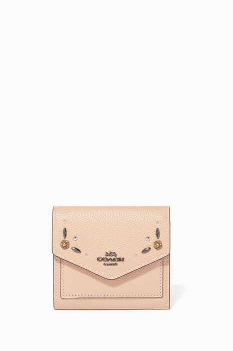 Beechwood Prairie Rivets Small Wallet