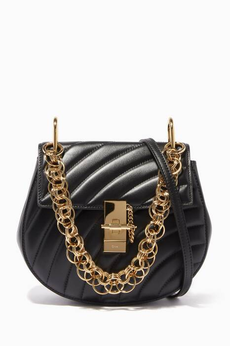 Black Small Drew Bijou Shoulder Bag