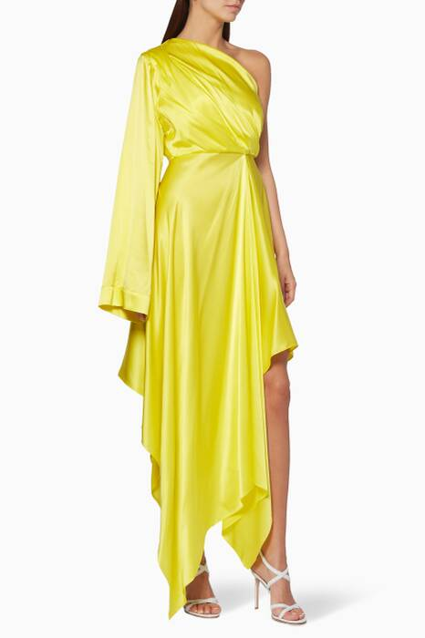 Yellow Alida Dress