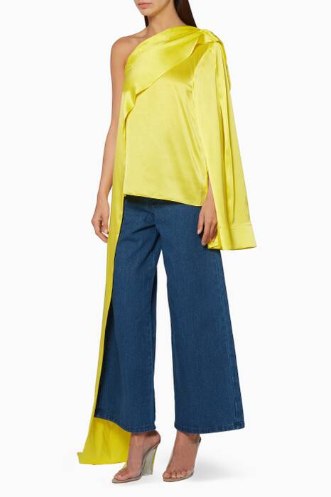 Yellow Rosa Top