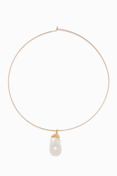 Gold Best Lady Necklace