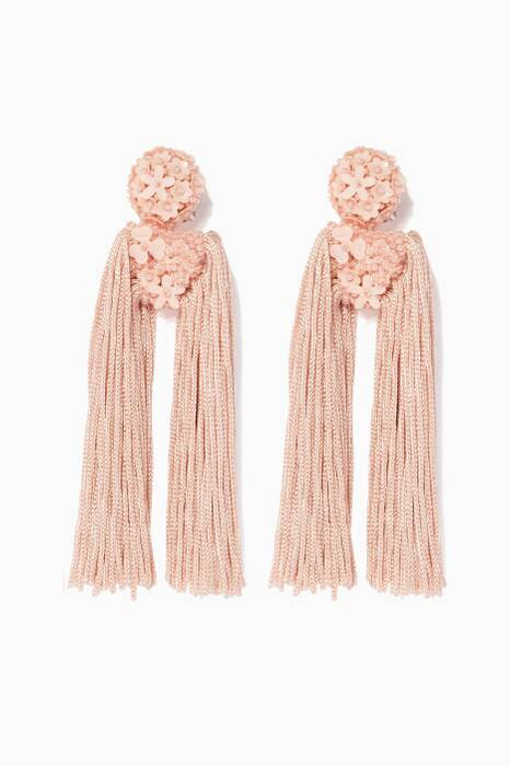 Light-Pink Fleur Dupio Earrings