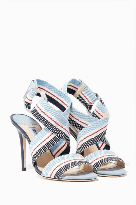 Aqua-Blue Bailey 100 Sandals