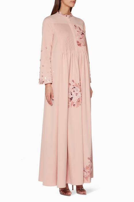 Light-Pink Zeta-B Embellished Dress
