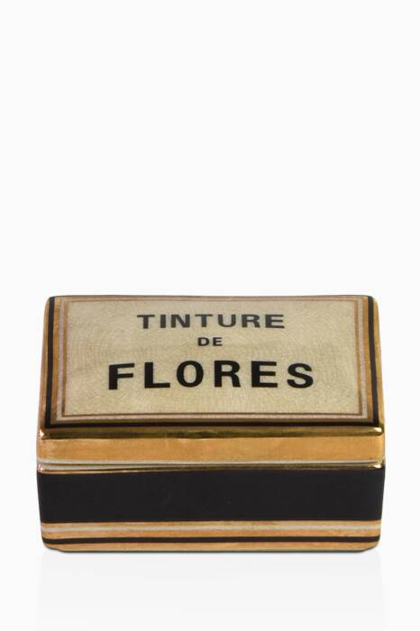 Tinture De Flores Small Ceramic Candle