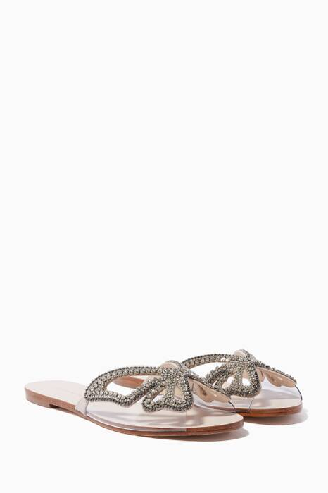 Light-Beige Madame Butterfly Slides