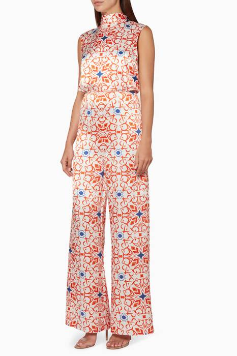 Multi-Coloured Megan Printed Jumpsuit