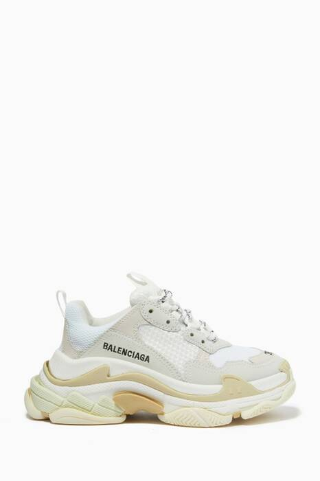 White Triple S Sneakers