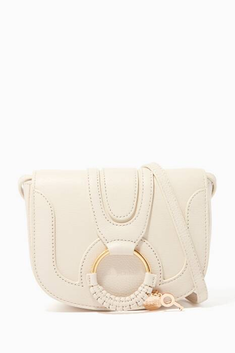 Cement-Beige Small Hana Shoulder Bag