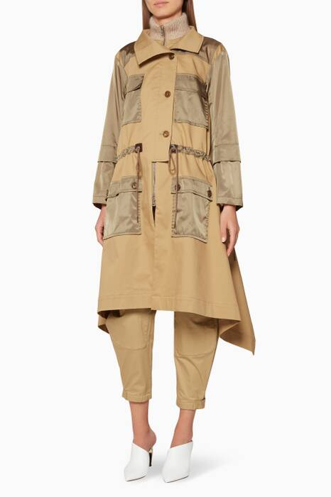 Grove-Brown Trench Coat