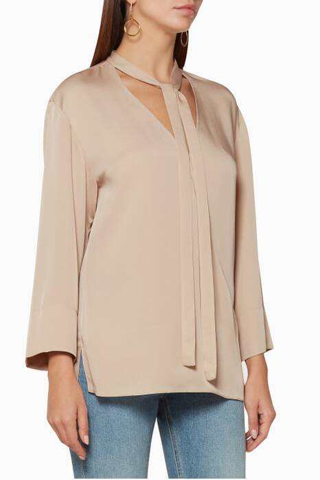 Beige Relaxed Top