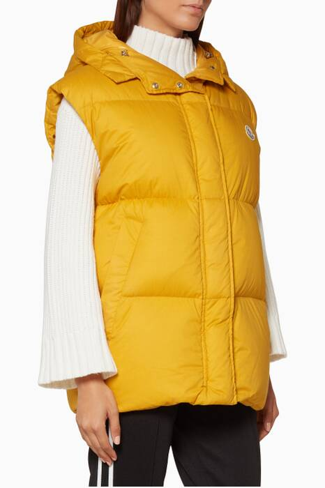 Ochre-Yellow Cheveche Gilet