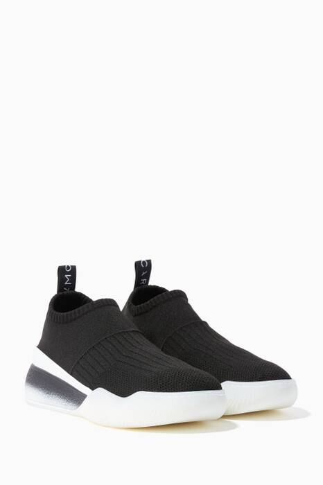 Black Loop Low Sock Sneakers