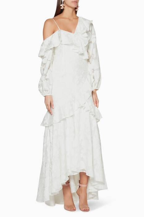 Ivory Lace Radar Gown
