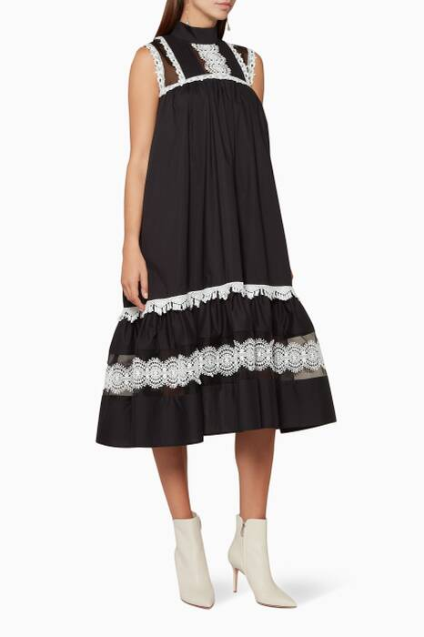 Monochrome Milly Dress
