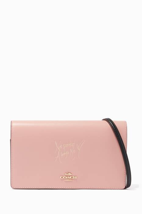 Coach X Selena Gomez Colour-Block Selena Fold-Over Clutch