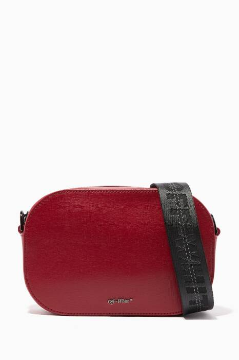 Dark-Red Camera Shoulder Bag