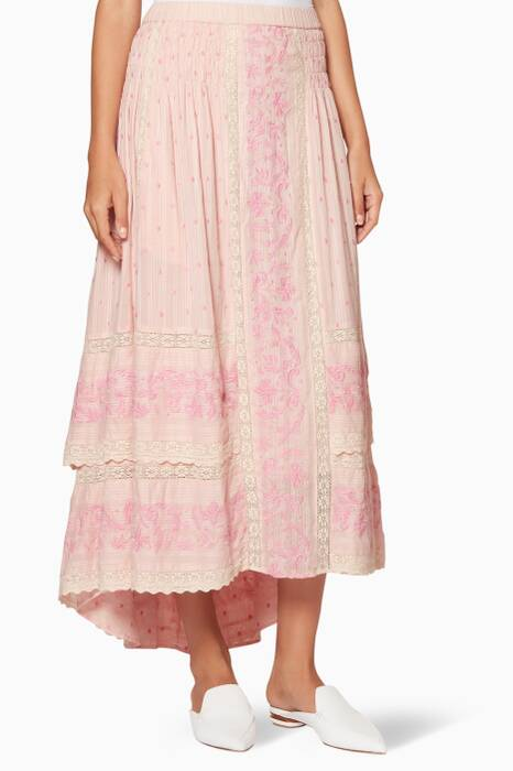 Light-Pink Joan Maxi Skirt