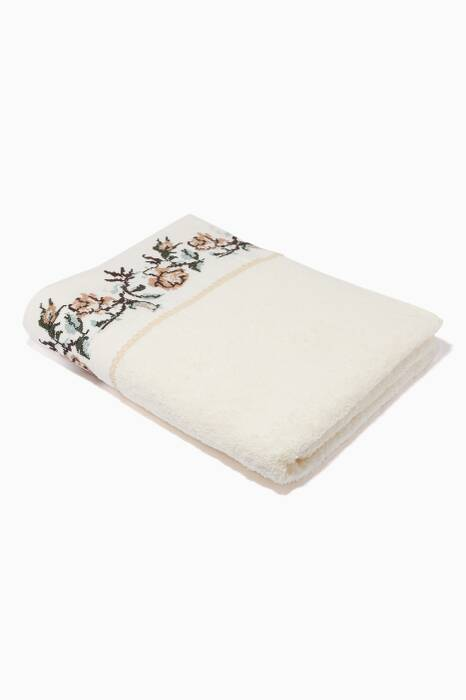 Beige Kanavice Bath Towel