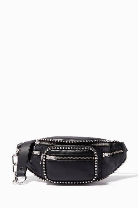 Black Ballchain Attica Belt Bag